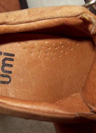 Туфли ботинки кожа8