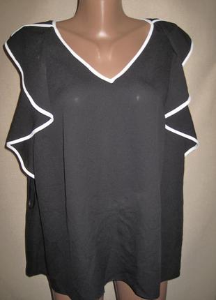 Блуза с воланами tu р-р20