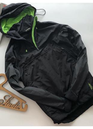 Спортивная мужская куртка анорак nike shox pp m-л