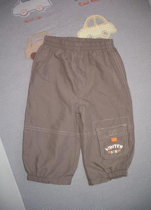 Штанишки для мальчика на 12 месяцев