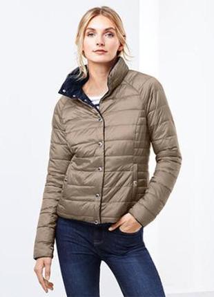 Мега крутая стеганая куртка-двухсторонка от tchibo, германия - р. 50-52 укр.