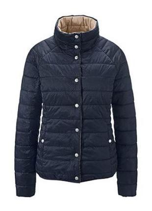 Мега крутая стеганая куртка-двухсторонка от tchibo, германия - р. 50-52 укр.4