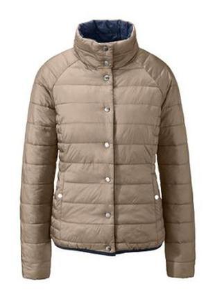 Мега крутая стеганая куртка-двухсторонка от tchibo, германия - р. 50-52 укр.5