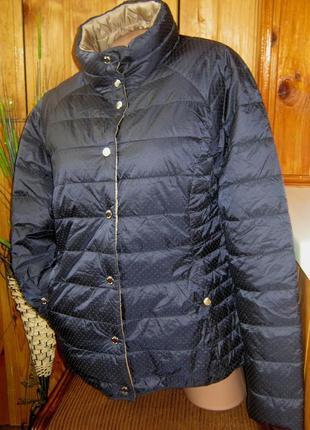 Мега крутая стеганая куртка-двухсторонка от tchibo, германия - р. 50-52 укр.9