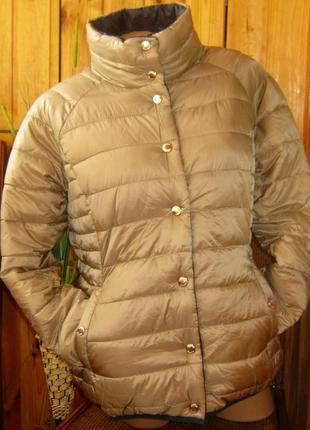 Мега крутая стеганая куртка-двухсторонка от tchibo, германия - р. 50-52 укр.10