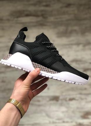 Шикарные мужские кроссовки adidas adidas af 1.4 primeknit black