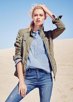 Взыскательной моднице - хлопковая блуза tchibo, германия - р. 54 укр.2