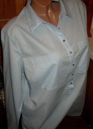 Взыскательной моднице - хлопковая блуза tchibo, германия - р. 54 укр.4