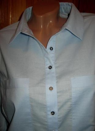 Взыскательной моднице - хлопковая блуза tchibo, германия - р. 54 укр.7
