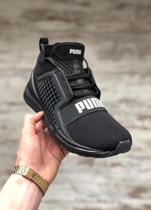 Шикарные мужские кроссовки puma ignite limitless 2 black