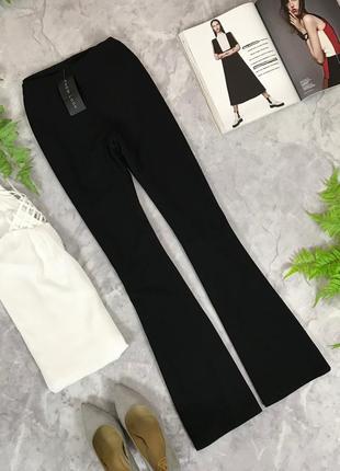 Трикотажные брюки с клешем  pn1912067  new look
