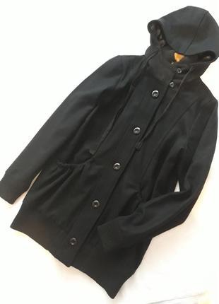 Tara m новое брендовое#шерстяное пальто#тренч#полупальто, 70% шерсть, спорт#кэжуал.