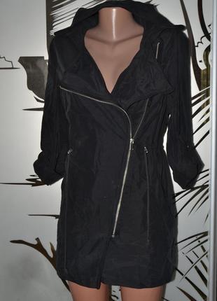 Легкая ветровка плащ куртка хс-с размер