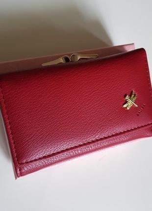 Стильный женский кошелек-balisa (бордовый)