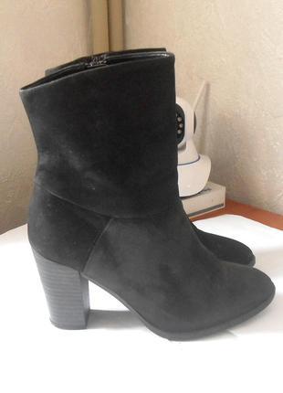 Кожаные полусапожки ботинки сапоги jones bootmaker, р.36 код f3601
