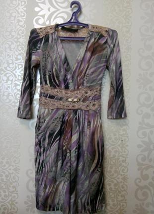 Шикарное платье, р. s  скидка до 01.06