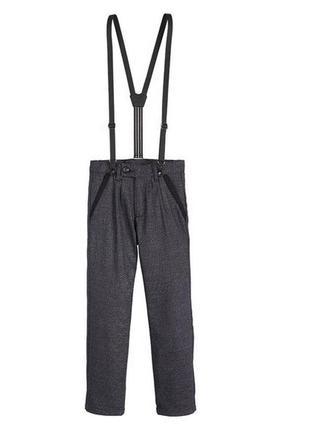 Стильные брюки на подтяжках pepperts.