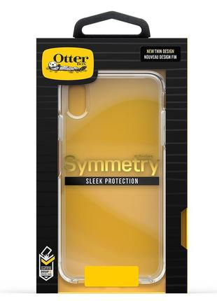 Чехол для iphone x xs max otterbox symmetry series clear оригинал