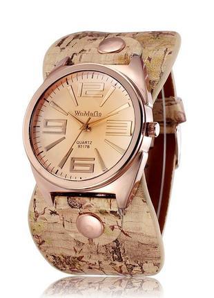 2511e625 Женские наручные часы с широким ремешком 2019 - купить недорого вещи ...