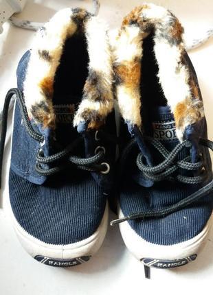 Ботинки из текстиля kangle