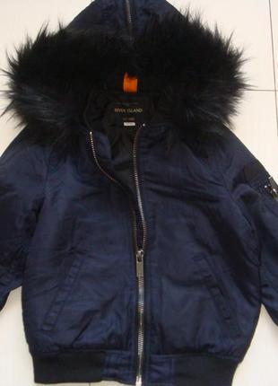 Деми куртка 5-6лет
