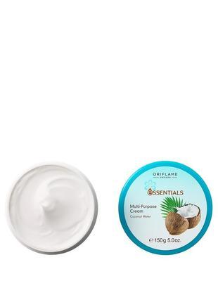 Крем для лица и тела «кокосовая вода» 150мл