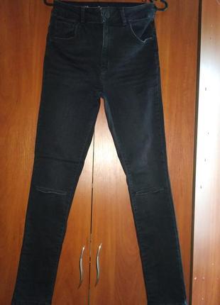Женские джинсы скини1 фото