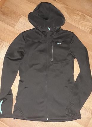 Фирменная спортивная кофта куртка на флисе oneill!размер м.