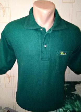 Футболка поло chemise lacoste ,made in france