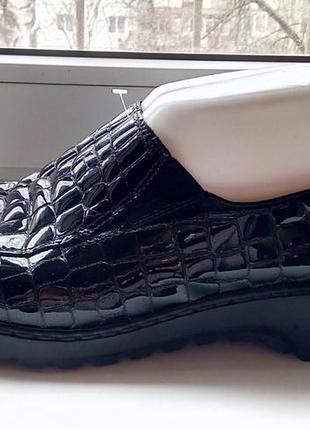Фирменные кожаные туфли rieker
