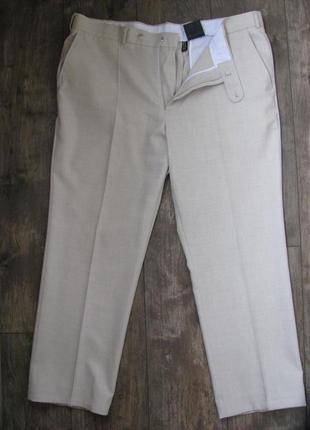 Брюки мужские светлые тонкие летние 50-52 германия canda