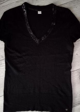 Нарядна футболка s.oliver - паєтки
