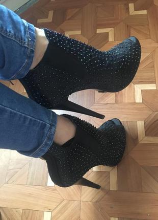 Ботиночки с открытым носком