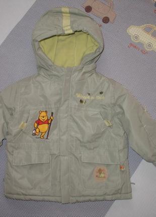 Куртка теплая на 6 месяцев