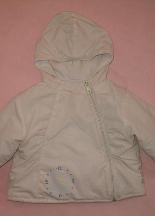 Куртка белая на 12 месяцев