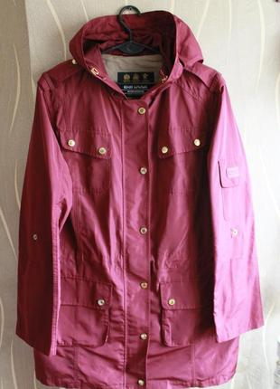 Красочная весеняя парка barbour maroon scooter suit hooded delta parka rain jacket