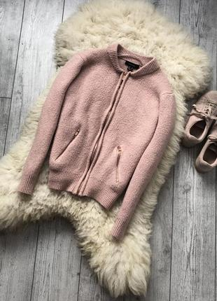 🔥пудрово-розовый бомбер🔥