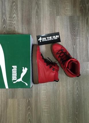 Puma the ren boot красные