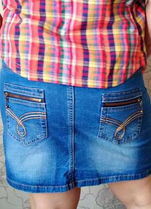 Юбка джинсовая esmara
