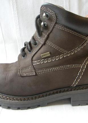 Кожаные утепленные ботинки landrover