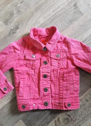 Esprit  крутой джинсовый пиджак для девочки