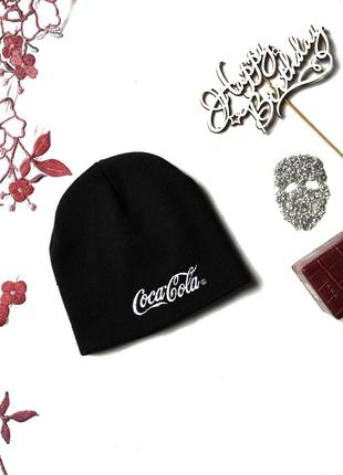 Coca cola шапка черная 1+1=3 🎁 бини