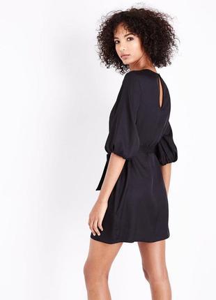 Маленькое чёрное платье , рукава фонарики5
