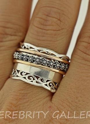 10% скидка - подписчикам! красивое кольцо серебряное размер 20 (19). i 101024 20