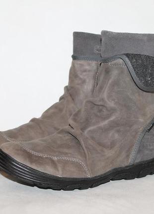 Комфортные кожаные ботинки geox goretex 36 размер