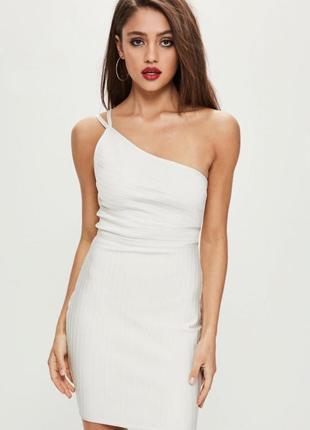 Роскошное резиновое бандажное платье-утяжка xs-s