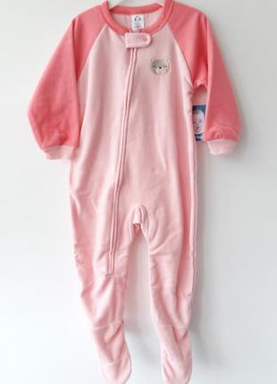 Флисовый слипик пижама  фирмы gerber