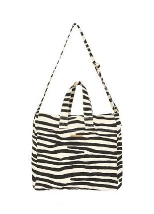 Большая пляжная еко сумка stella mccartney