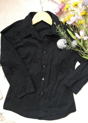 Черная рубашка esprit