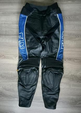 Мотоштаны натуральная кожа кожаные мото брюки